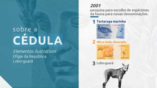 Nova cédula de R$ 200 entra em circulação no país