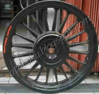 Velg Daytona Ring 14  Warna Hitam / Black