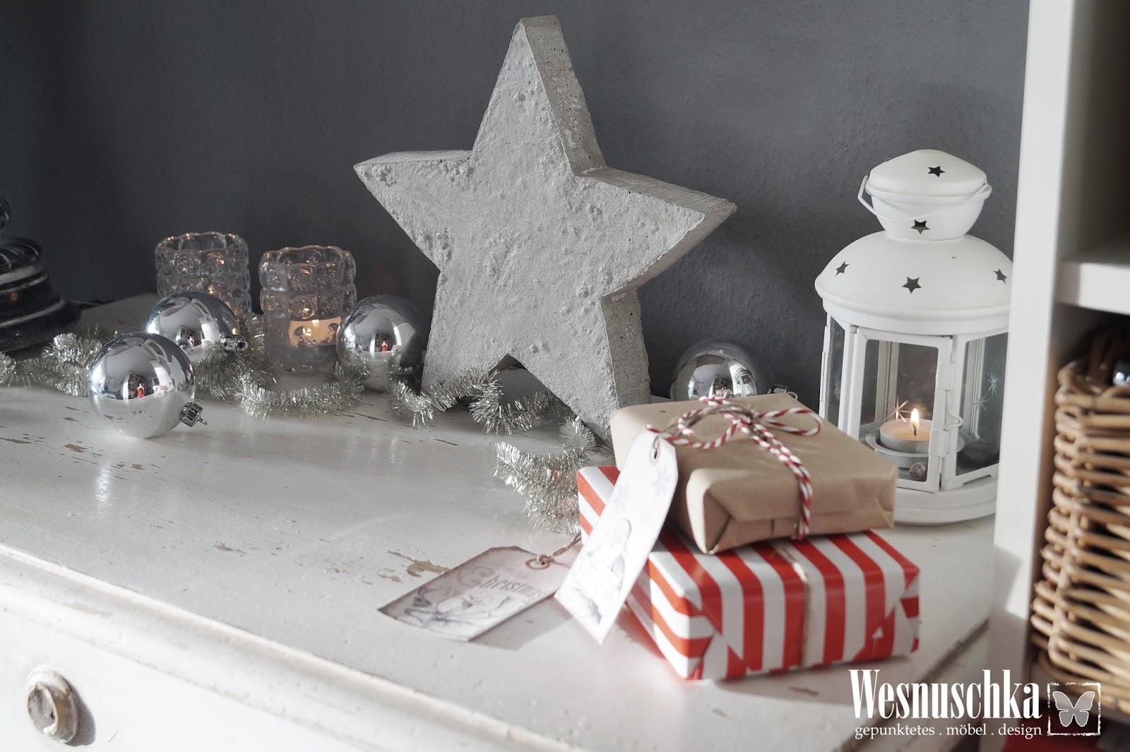 Beton Weihnachtsdeko.Wesnyanka Diy Weihnachtsdeko Stern Aus Beton Ein Video Gratis