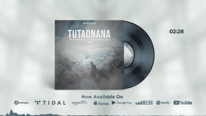 AUDIO | Rapcha Ft Kala Jeremiah, Kontawa, One Six, Mchizi Mox, Nacha & Tannah – Tutaonana | Download New song