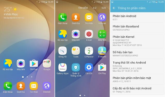 ROM global Galaxy On5 SM-G5700: fix full, full CH play, full TIẾNG VIỆT, fix GPS