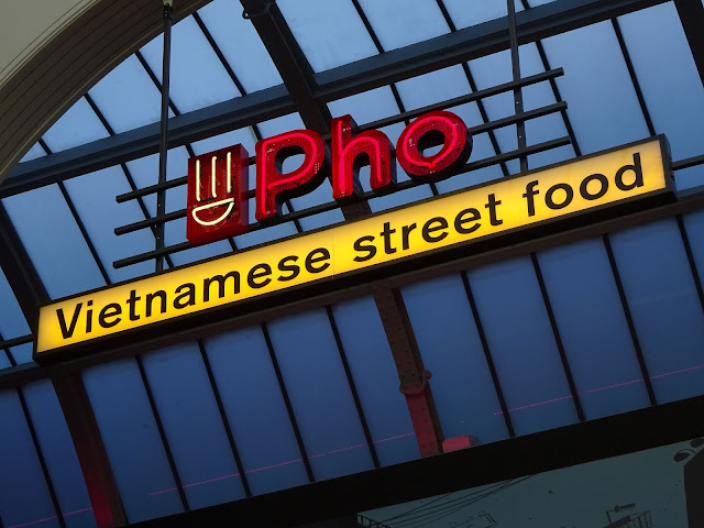 Pho Manchester Sign Vietnamese Street Food