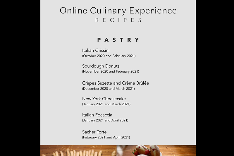 Enderun Online Culinary Short Courses