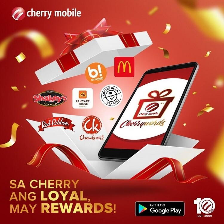 Get Rewards from Cherry Mobile with the Cherrywards App