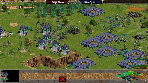 Choson rất mạnh trong vòng loạt game Death maps