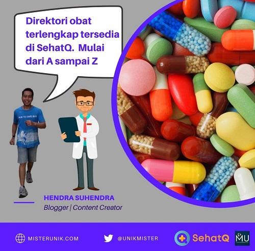 Direktori Obat Lengkap di SehatQ