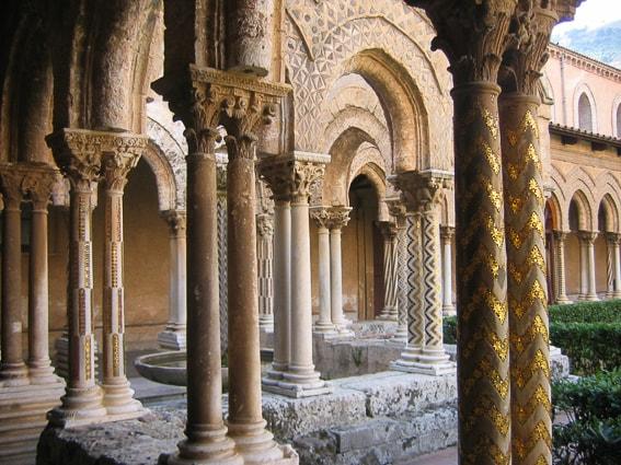 Claustro de Monreale. Sicilia
