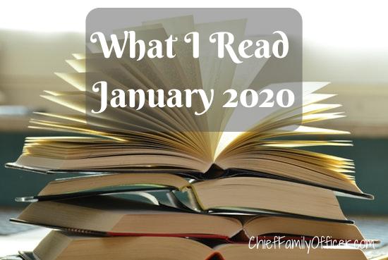 What I Read in Jan 2020