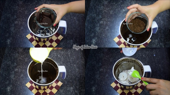 Oreo Cold Coffee Recipe in 2 Mins - Priya R - Magic of Indian Rasoi