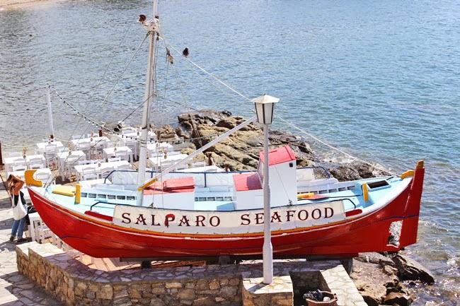 Salparo seafood Mykonos