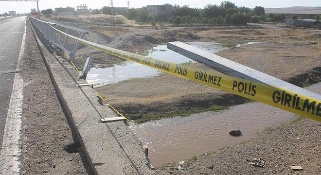 Diyarbakır Bismil'de otomobil köprüden uçtu: 1 ölü 3 yaralı