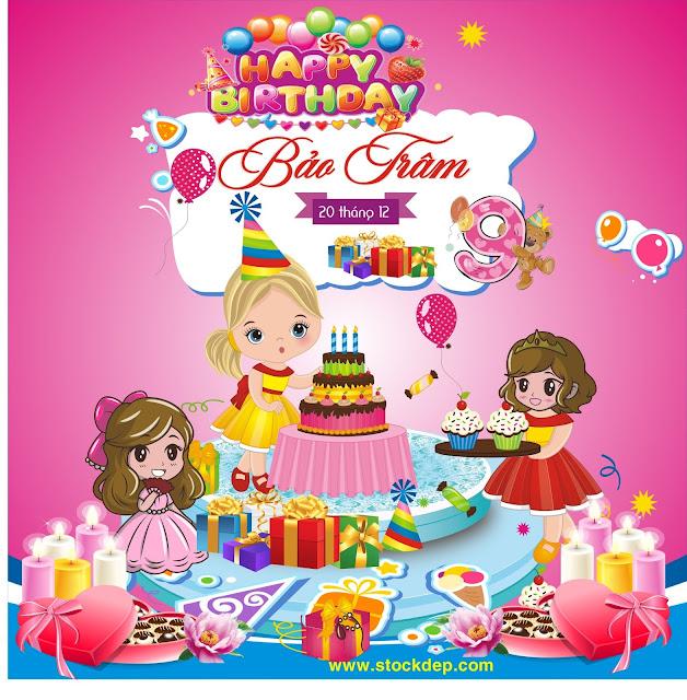 Phông Tiệc sinh nhật