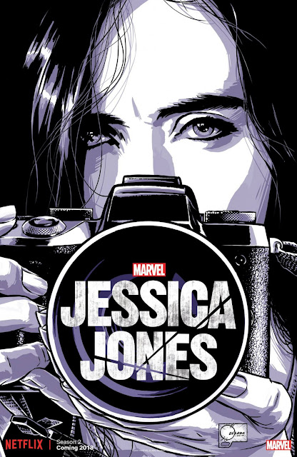 New York Comic Con 2017 Exclusive Marvel's Jessica Jones Season 2 Teaser Television Series Poster by Joe Quesada
