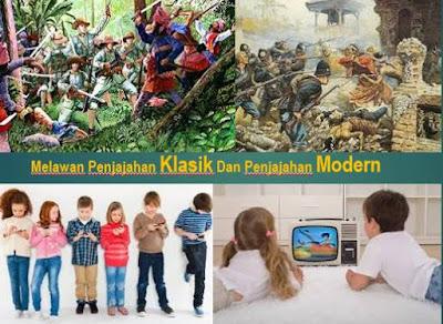 Perjuangan Bangsa Indonesia Melawan Penjajahan Klasik Dan Penjajahan Modern