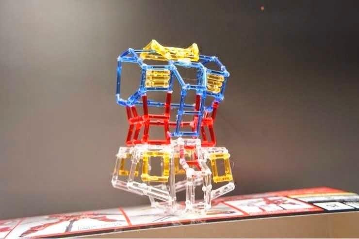 Awesome Gundam Made of Leftover GunPla Runners