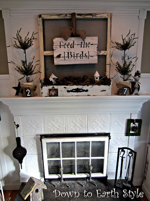 Down to Earth Style Decorating with Old Windows Where
