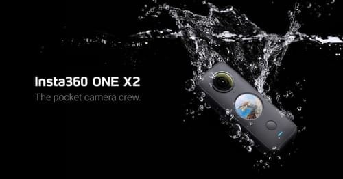 Insta360 One X2 you get a touch screen