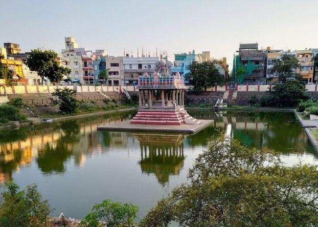 Sri Parthasarathyswamy Temple Tank