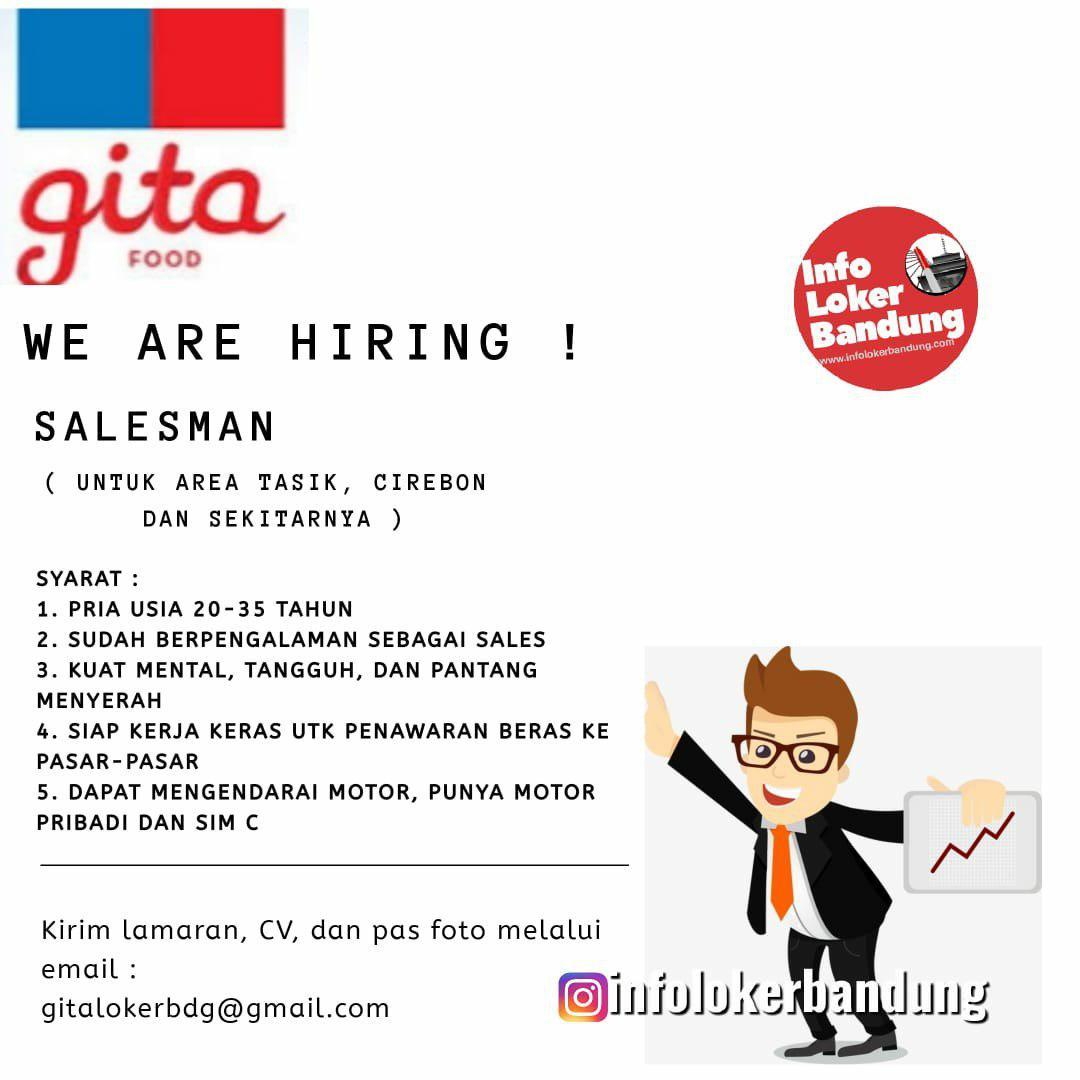 Lowongan Kerja PT. Gita Food Juni 2019