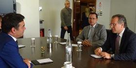 Συνάντηση Κουμουτσάκου με τον υπουργό Εξωτερικών της ΠΓΔΜ Ν. Ντιμητρόφ