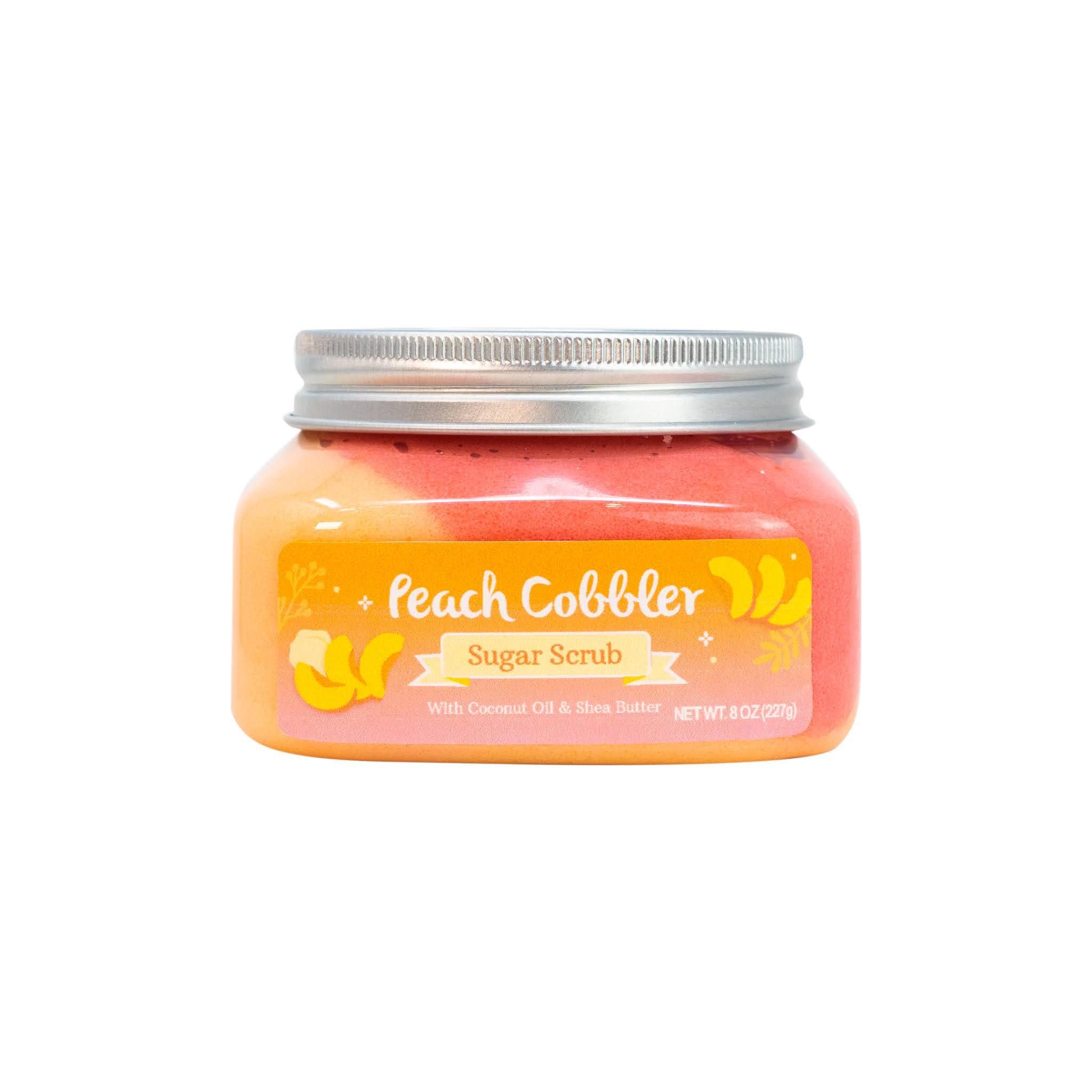 Nectar Bath Treats Peach Cobbler Sugar Body Scrub