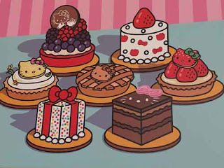 Picture of Desserts at Hello Kitty Grand Cafe