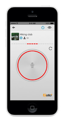 zello-All you do is press the button and then speak