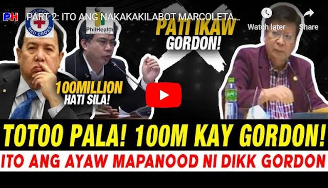 PANOORIN: Suholan sa PhilHealth Lantad na, Senator Gordon isa sa Tumanggap