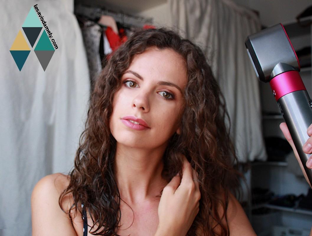 blog dyson airwrap pré séchage sèche cheveux