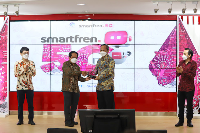 uji coba 5G smartfren