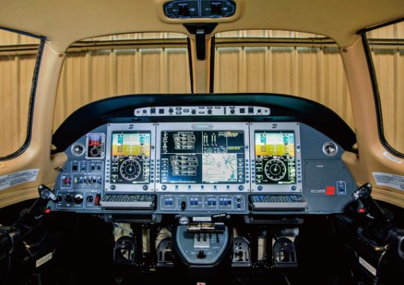 Eclipse 500 cockpit