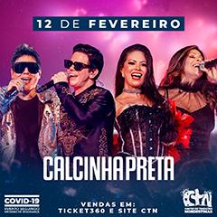 12/02/2021 Show da Calcinha Preta em São Paulo [CTN Limão] Centro de Tradições Nordestinas