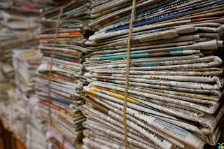 Get to know the companies that bet on newspaper recycling