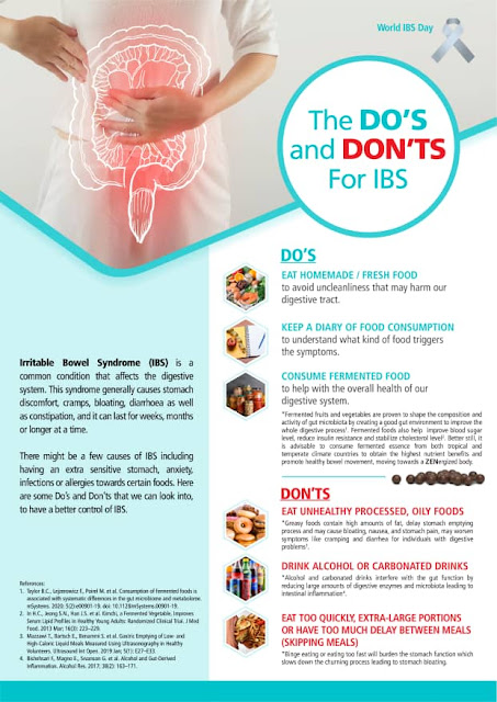 Do's and Don'ts for IBS