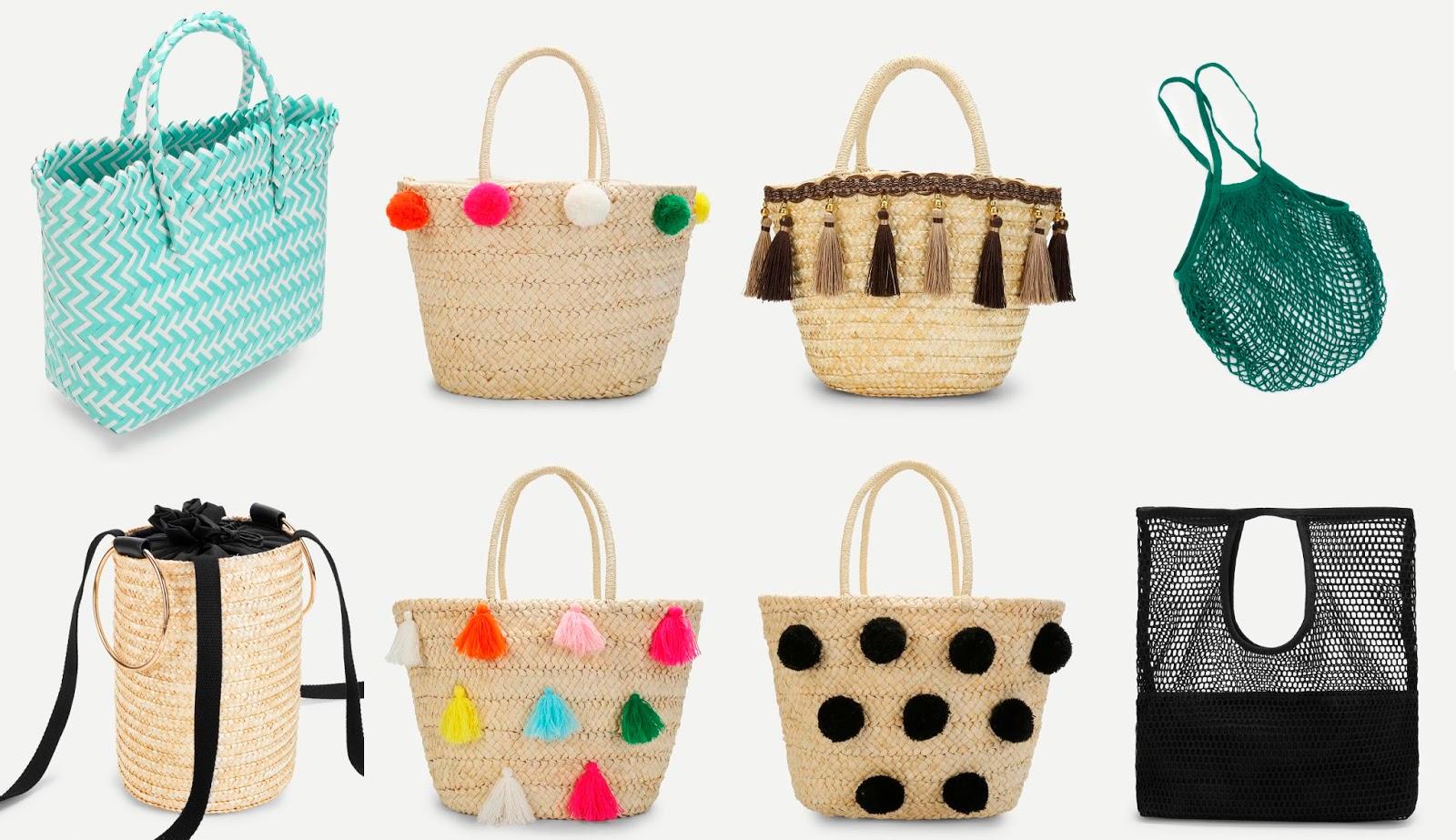 5049c408b88d Самые модные соломенные сумки сезона весна - лето 2018. | INPOISON