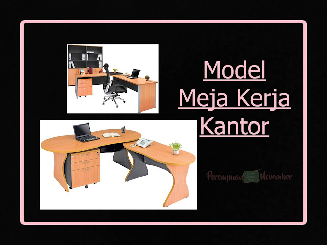 model meja kerja kantor