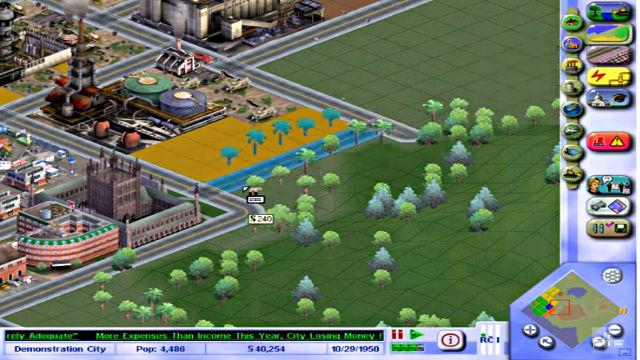 SimCity 3000 (Demo) - Image du Jeu