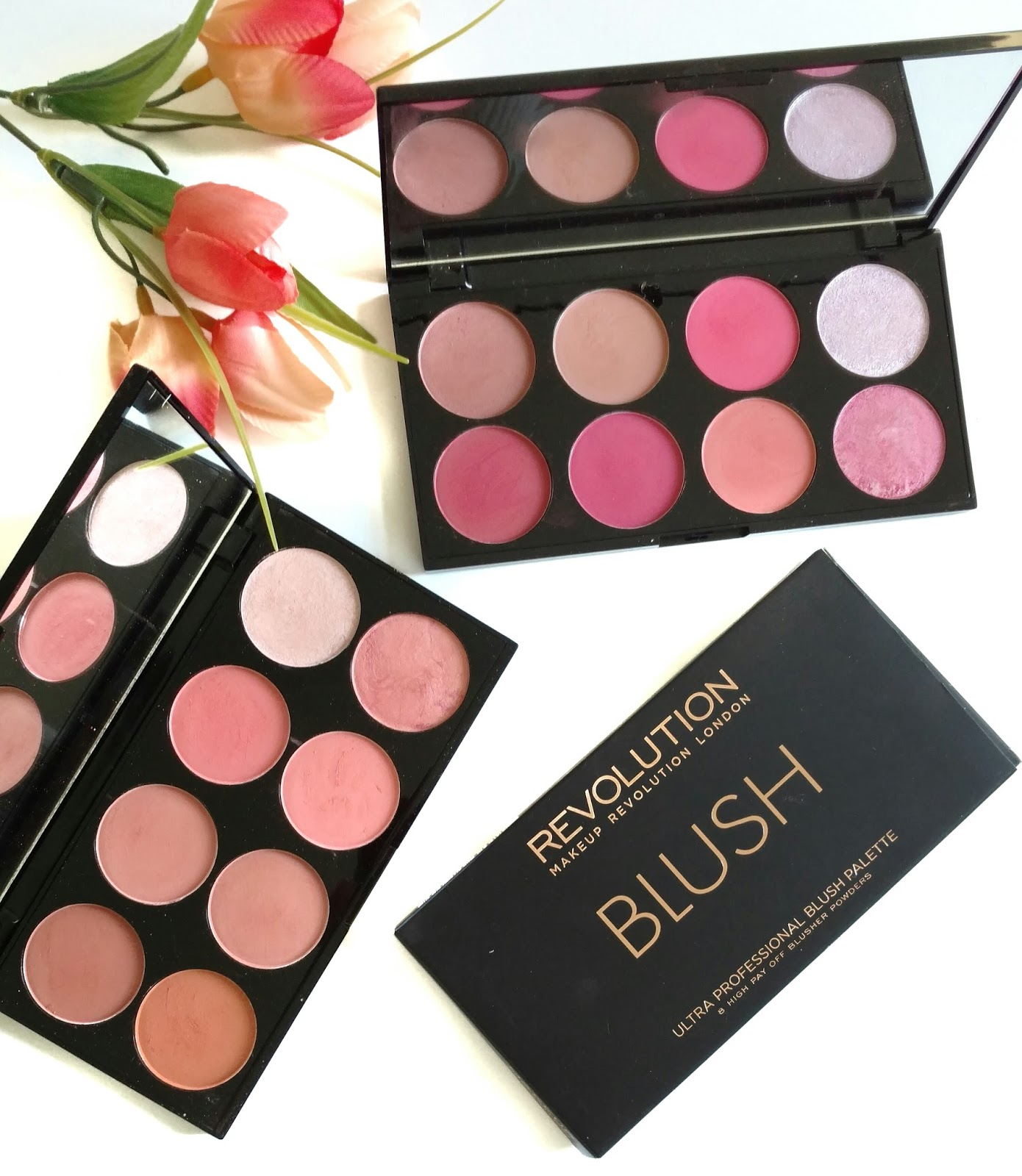 Makeup Revolution Ultra Blush Palettes In Hot Spice Sugar And