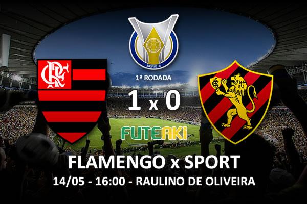 Veja o resumo da partida com o gol e os melhores momentos de Flamengo 1x0 Sport pela 1ª rodada do Brasileirão 2016.