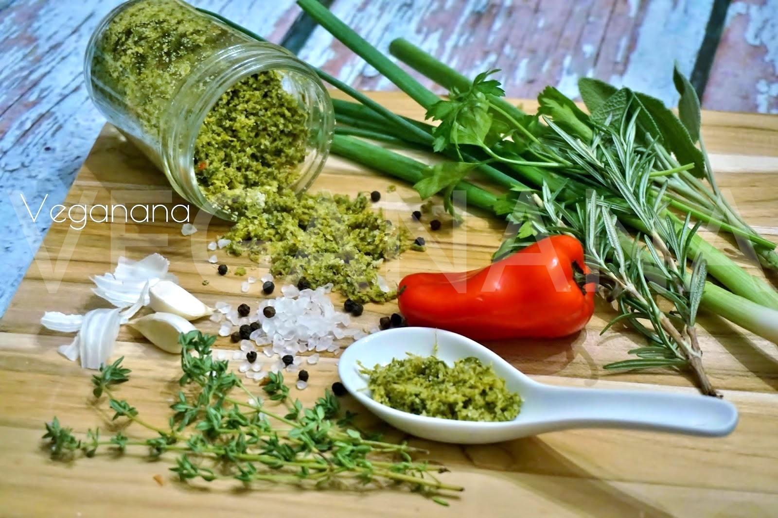 Veganana: Sal com Ervas Frescas