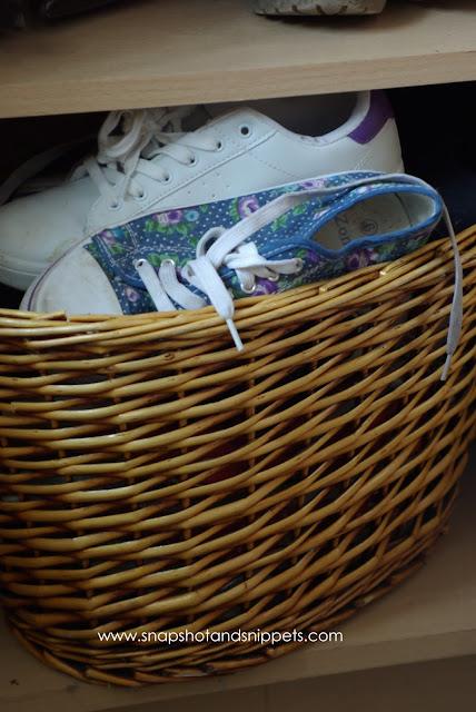 Vinyage Basket Storage img
