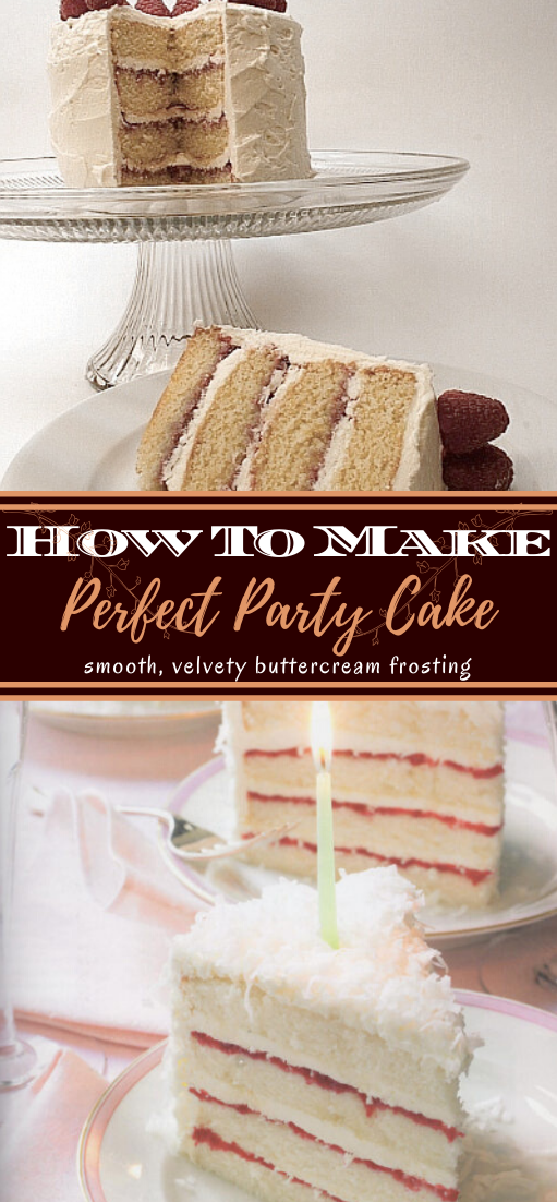 Perfect Party Cake #desserts #cakerecipe #chocolate #fingerfood #easy