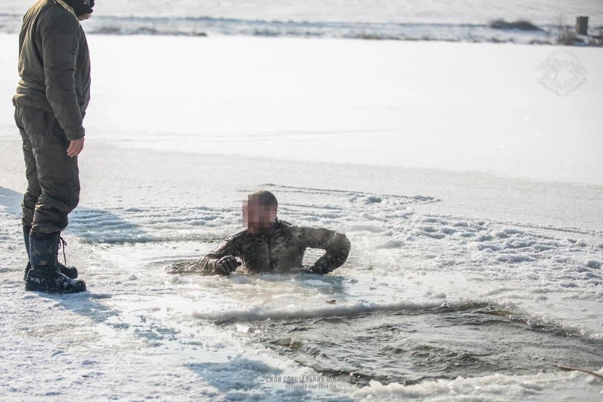 Воїни ССО відпрацювали дії в умовах низьких температур