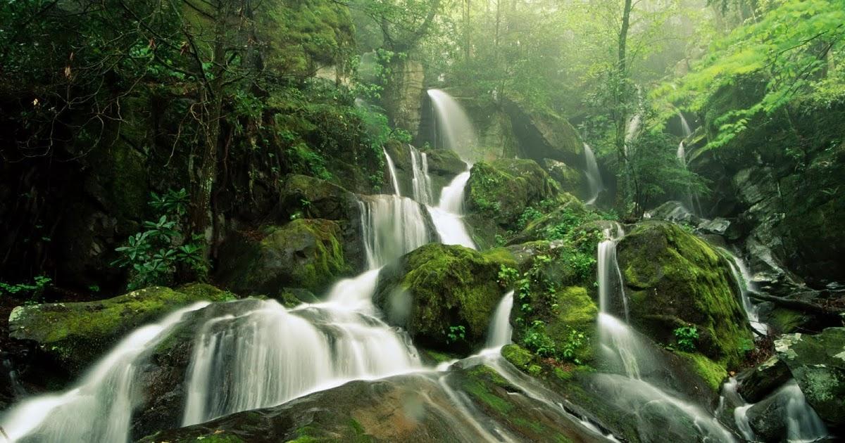 Wallpaper Proslut Waterfall Nature Wallpapers Hd Water