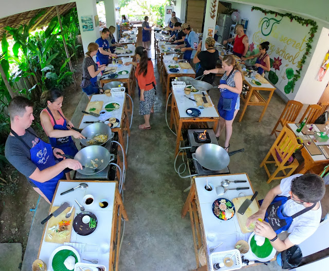 Thai Secret Cooking Class and Organic Garden Farm. October 16th 2019