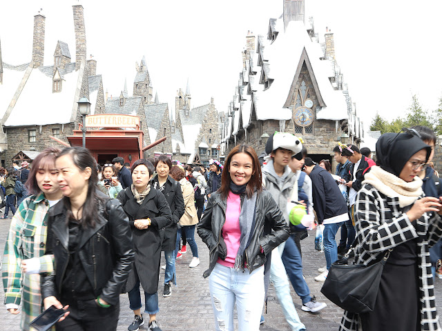 At Hogsmeade - Universal Studios Japan