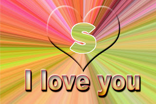 S love image, S letter love pic