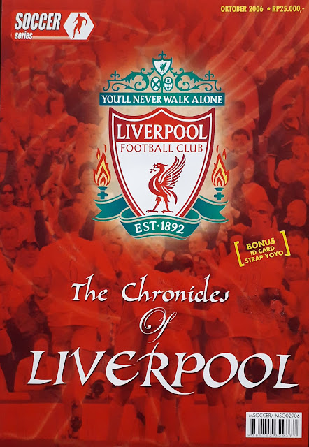 SOCCER MAGAZINE THE CHRONICLES OF LIVERPOOL