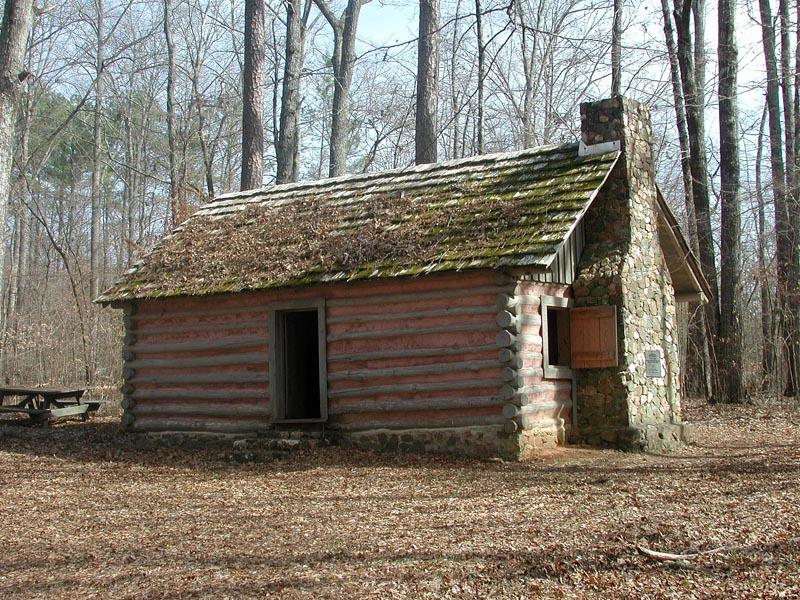 Colonial quills colonial log cabins in the south for Colonial log homes