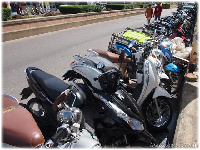 Motorcycles for rent in Hua Hin